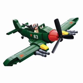 M38-B0683 Bouwstenen wwii serie ilyushin il-2 allied fighter plane