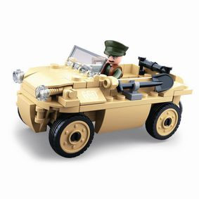 M38-B0690 Bouwstenen wwii serie vw 82 german amphibious car