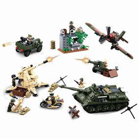 M38-B0697 Bouwstenen wwii serie battle of kursk
