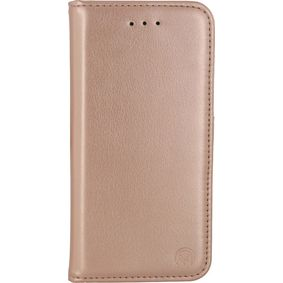 MOB-23189 Smartphone Classic Gelly Wallet Book Case Samsung Galaxy S8 Goud