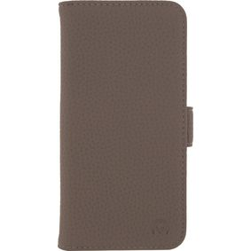 MOB-23394 Smartphone Classic Gelly Wallet Book Case Samsung Galaxy S7 Taupe