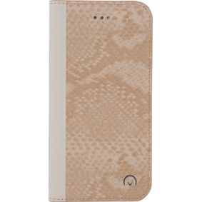MOB-23453 Smartphone Premium Gelly Book Case Huawei P10 Snake Light Peach