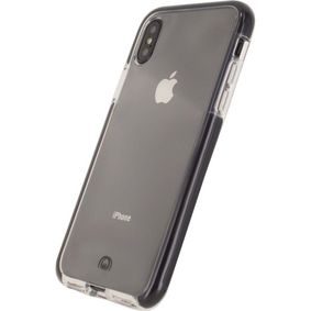MOB-23683 Smartphone Shatterproof Case Apple iPhone X/Xs Transparant/Zwart