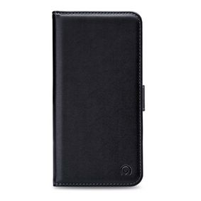 MOB-24355 Smartphone Classic Gelly Wallet Book Case Huawei Y6 2018 Zwart
