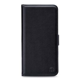 MOB-24410 Smartphone Classic Gelly Wallet Book Case Honor 7A Zwart