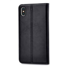 MOB-24542 Smartphone premium gelly book case apple iphone xs max zwart