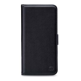 MOB-24678 Smartphone Classic Gelly Wallet Book Case Motorola One Power Zwart