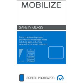MOB-44695 Full Coverage Safety Glass Screenprotector Apple iPhone XR