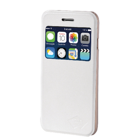 MTIA55-003WHT Smartphone Wallet-book Apple iPhone 6 Plus / 6s Plus Wit