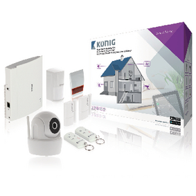 SAS-CLALARM10 Smart home security-set wi-fi / 868 mhz