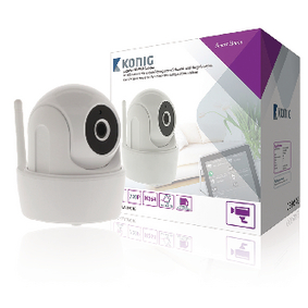 SAS-CLALIPC10 HD Smart Home IP-Camera Binnen 720P