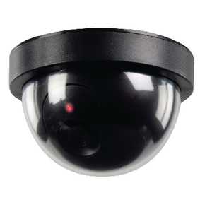 SAS-DUMMYCAM50 Dome dummy camera zwart