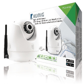 SAS-IPCAM111W Hd pan-tilt ip-camera binnen 720p wit