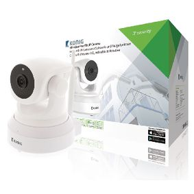 SAS-IPCAM210W HD Pan-Tilt IP-Camera Binnen 1280x720 Wit