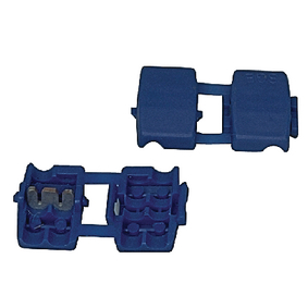SPLICE-BLUE Audiocomponent snap-on connector