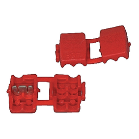 SPLICE-RED Audiocomponent Snap-on Connector