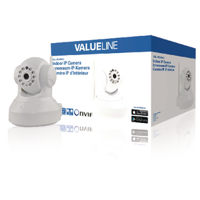 SVL-IPCAM10 Hd pan-tilt ip-camera binnen 720p wit