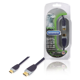 SVL1501 High Speed HDMI Kabel HDMI-Connector - HDMI Mini-Connector Male 1.00 m Zwart