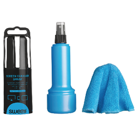 CS200 Tv & smartmedia schermreiniger set 150 ml blauw