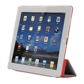 SA622 Tablet Folio-case Apple iPad 4 Rood