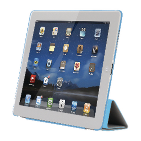 SA627 Tablet Folio-case Apple iPad 4 Blauw