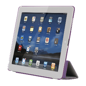 SA629 Tablet Folio-case Apple iPad 4 Paars