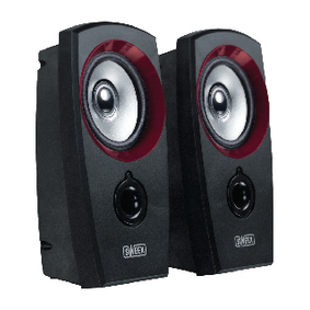 SP041 Speaker 2.0 3.5 mm 2 W Zwart/Rood