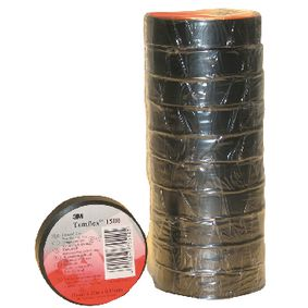 TAPE-BLACK/3M Templex isolatie tape 15 mm 10 m zwart