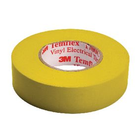 TAPE-YELLOW/3M Temflex isolatie tape 15 mm 10 m geel