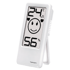 TH-4675 Thermometer/Hygrometer Binnen Wit