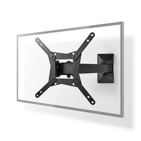TVWM21BK Full motion tv wall mount | 10 - 32