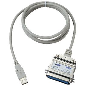 UC1284B-AT Usb 2.0 kabel usb a male - centronics 1.8 m grijs