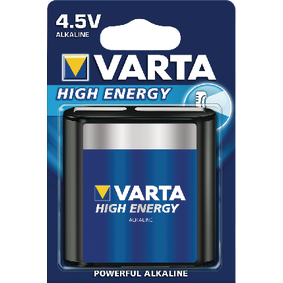 VARTA-4912/1 Alkaline Batterij 3LR12 4.5 V High Energy 1-Blister