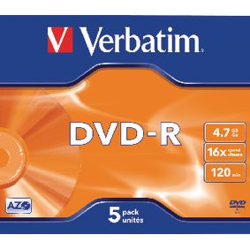VB-DMR47JCA DVD 4.7 GB 5 St