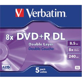 VB-DPD55JC DVD 8.5 GB 5 St