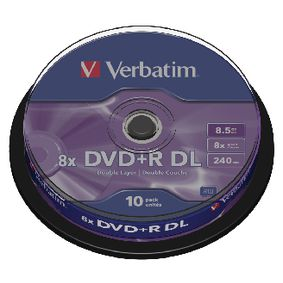 VB-DPD55S1 DVD 8.5 GB 10 St