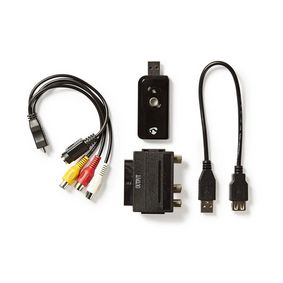 VGRRU100BK Video-grabber | a/v-kabel / scart | inclusief software | usb 2.0