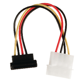 VLCP73505V015 Interne Stroomkabel Molex Male - SATA 15-Pins Female 0.15 m