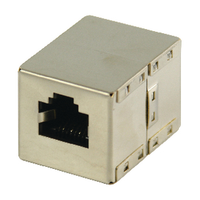 VLCP89001M CAT5 Netwerk Adapter RJ45 (8/8) Female - RJ45 (8/8) Female Metaal