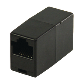VLCP89050B CAT5 Netwerk Adapter RJ45 (8/8) Female - RJ45 (8/8) Female Zwart