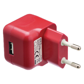 VLMP11955R Lader 1-Uitgang 2.1 A 2.1 A USB Rood