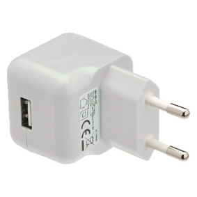 VLMP11955W Lader 1-Uitgang 2.1 A 2.1 A USB Wit