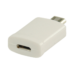 VLMP39020W MHL-Adapter USB Micro-B 11-Pins Male - USB Micro-B Female Wit