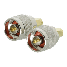 VLSP02970A SMA-Adapter SMA Male - N Male Goud/Zilver