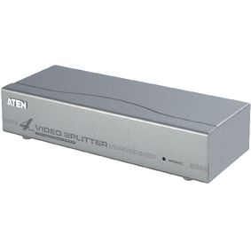 VS94A-AT-G 4-Poorts VGA-Splitter Zilver