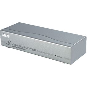 VS98A-AT-G 8-Poorts VGA-Splitter Zilver
