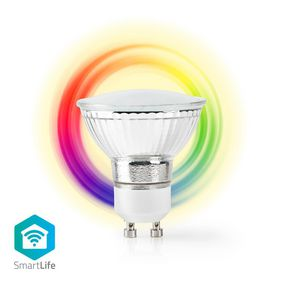 WIFILC10CRGU10 Wi-Fi Smart LED-Lamp | Full-Colour en Warm Wit | GU10