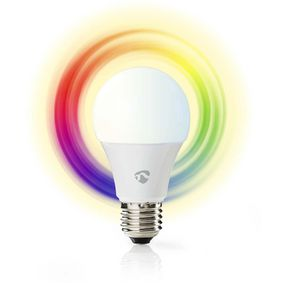 WIFILC10WTE27 Wi-Fi smart LED-lamp | Full-Colour en Warm-Wit | E27