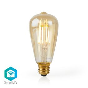 WIFILF10GDST64 Wi-fi smart led filament lamp | e27 | st64 | 5 w | 500 lm