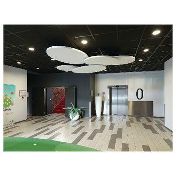 0053315 Led plafond lamp 18 w 4000 k 1400 lm In gebruik foto